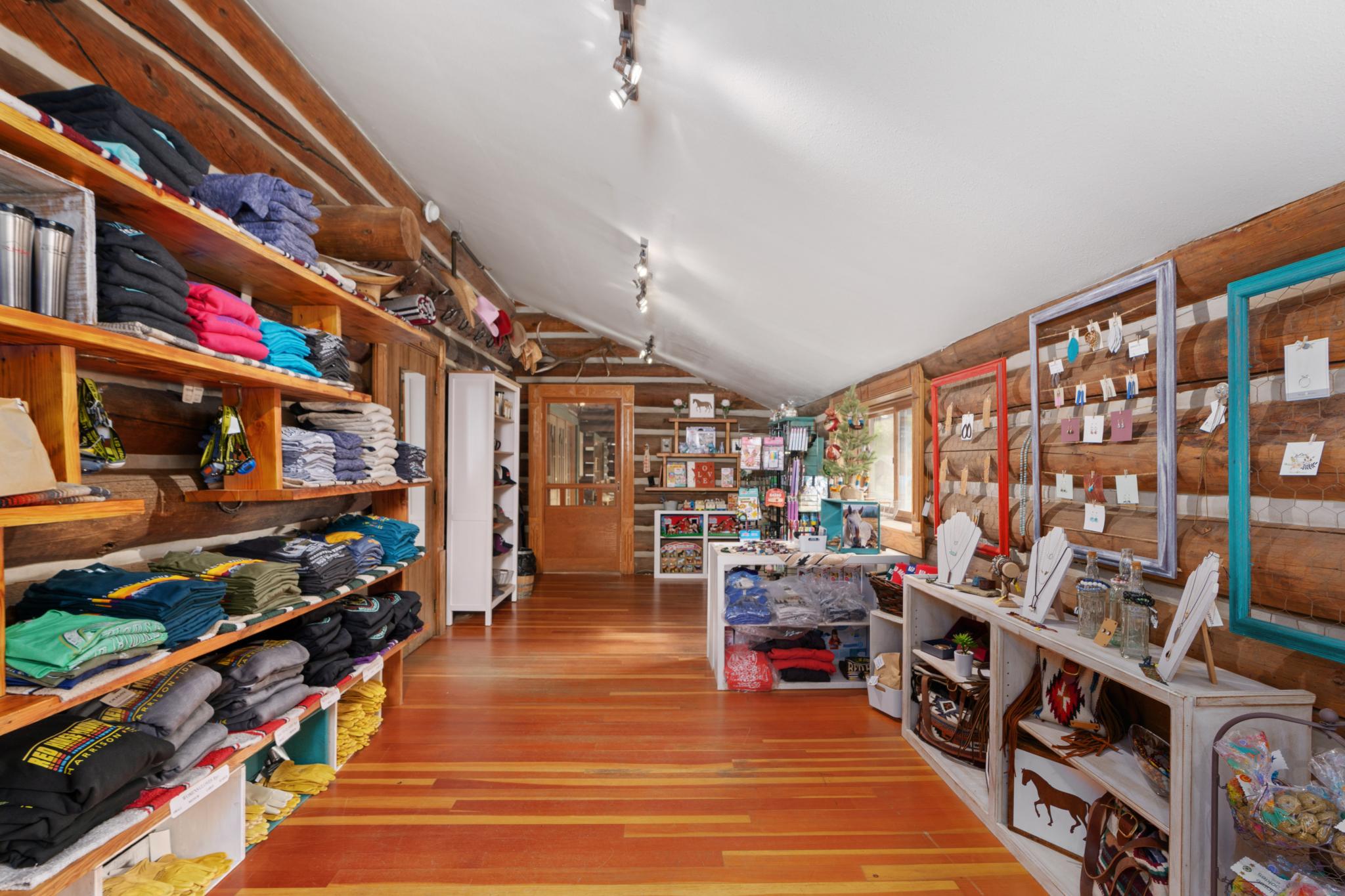 Trading Post shop interior